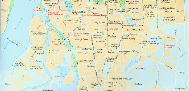 Nanchang Street Map