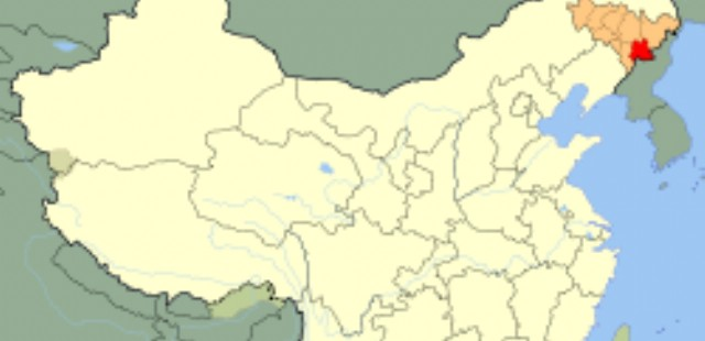 Baishan Location Map