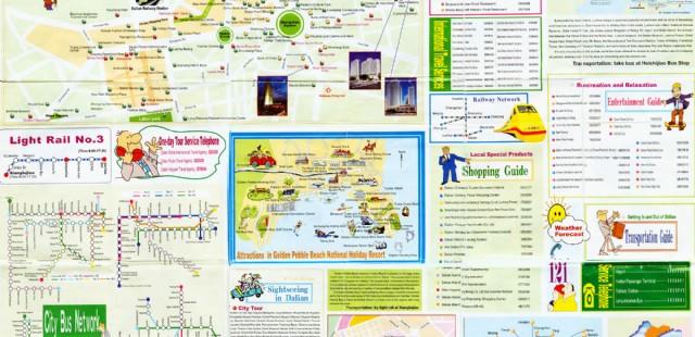 Dalian Guide Map