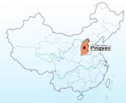 Pingyao Location Map