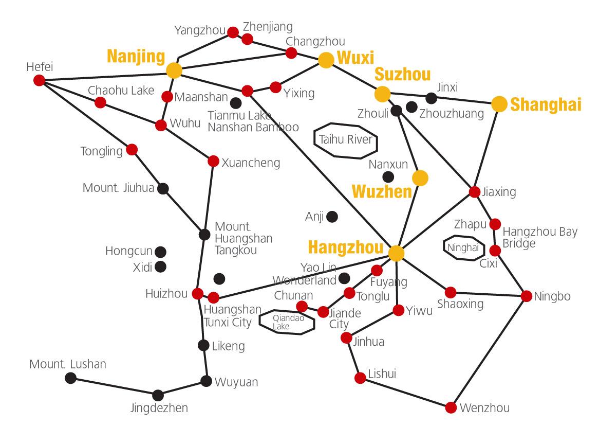 Shanghai-Suzhou-Hangzhou-Wuxi-map(Huadong-map).svg