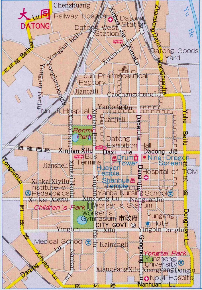 Datong City Map