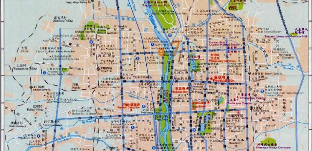 Taiyuan Street Map