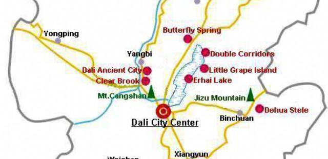 Dali Travel Map