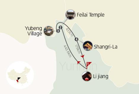 6 Days Mythical Yubeng Tour