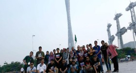 4 Days 3 Nights Guangzhou Tour - 89 People at Guangzhou Tower