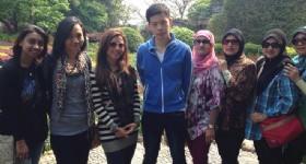 Guests at Guilin Yushan Park