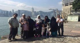 5 Days Hong Kong Tour - 12 Visitors at Hong Kong Victoria Harbour