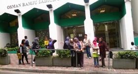 Guests at Hong Kong Kowloon Mosque