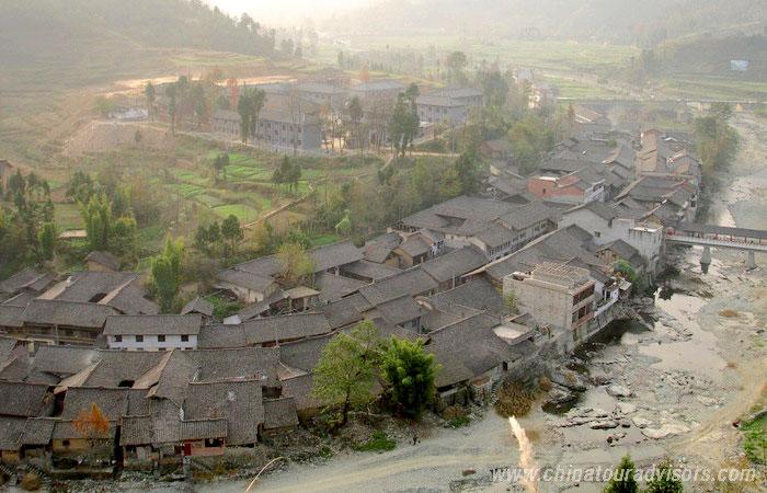 Qing Mu Chuan Ancient Town