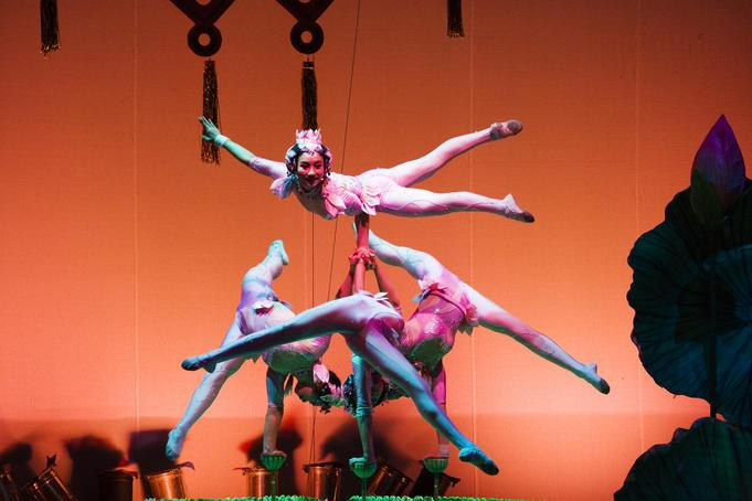 Shanghai Acrobatic Troupe Performance