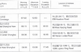 Suzhou Day Tour Pickup Points Shanghai