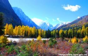 Mount Siguniang Shuangqiao Valley 1