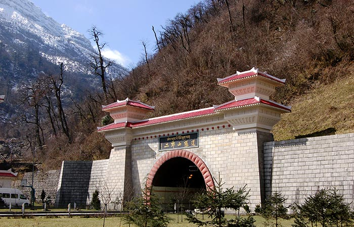 Erlangshan Tunnel