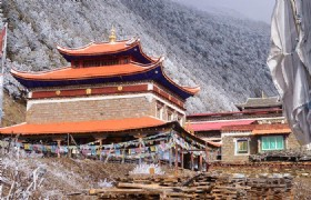 Gongga Lang Ji Ling Monastery