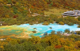4 Days Jiuzhaigou & Huanglong National Park Tour from Chengdu by Bus