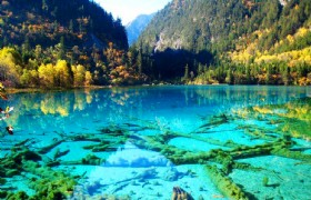 Chengdu Jiuzhaigou Huanglong Wonderful 7 Days Tour by Western bus