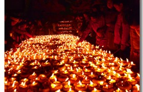 Tsongkapa Butter Lamp Festival