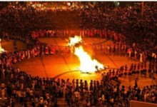 Liangshan Torch Festival of Yi Ethnic Group
