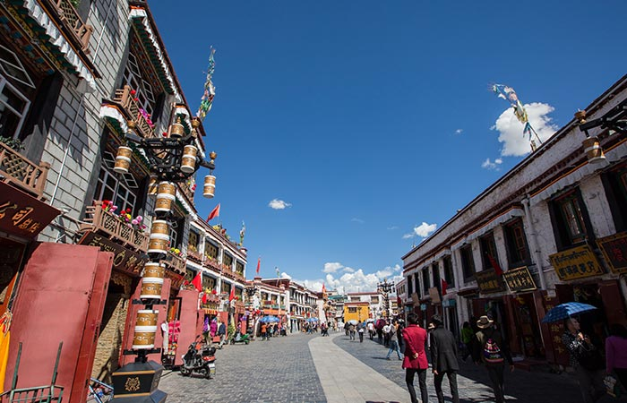 Lhasa, Gyantse and Shigatse 6 Days Tour