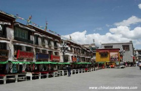 Lhasa Barkhor Street 2