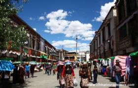 Lhasa Barkhor Street 3