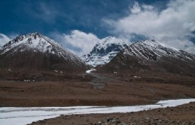 Mt Kailash snowcapped peak