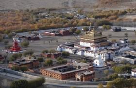 Samye Monastery front view