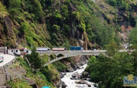 Sino Nepal Friendship Bridge
