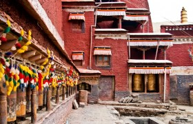 Sakya Monastery house