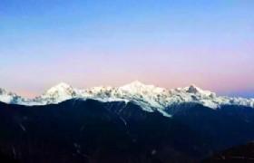 Meili Snow Mountain Scenery
