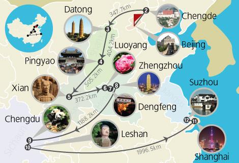 Beijing, Chengde, Datong, Pingyao, Xian, Luoyang, Shanghai, Suzhou 19 Days China World Heritage Tour