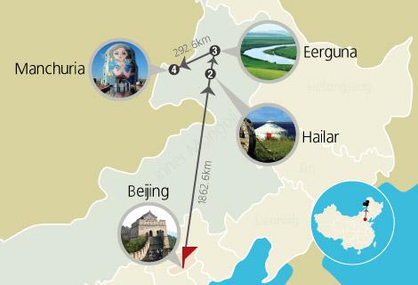 4 Days Tour Beijing Hulunbuir Folk Culture