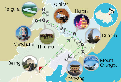 Northeast and Inner Mongolia 14 Days Train Tour