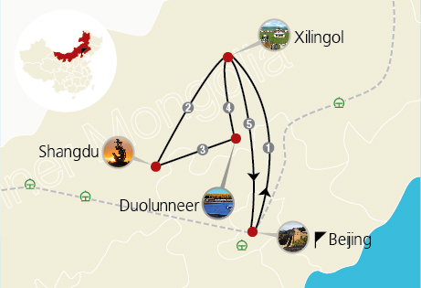 3 Days Beijing and Xanadu Tour