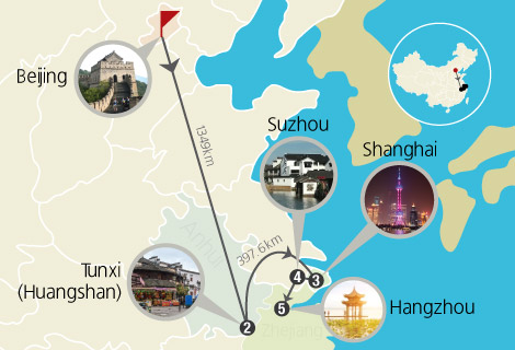 12 Days Northern and Southern China Tour