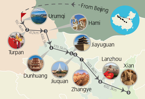 10-Day China Silk Road Tour