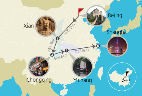 14-Day Beijing, Xian, Chengdu, Yangtze Cruise and Shanghai Group Tour