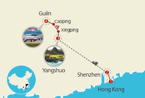 Bike Tour from Yangshuo to Guilin