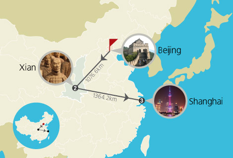Beijing Xian and Shanghai 8 Days Muslim Private Tour