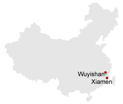 5 Days Xiamen and Wuyi Mountain Tour