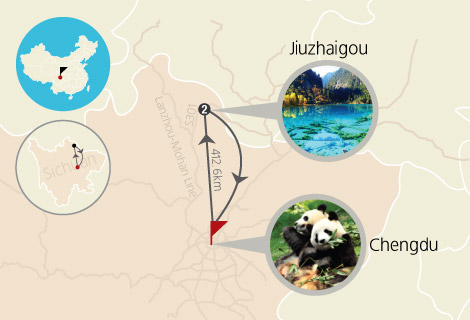6 Days Memorable of Chengdu and Jiuzhaigou Valley Muslim Tour