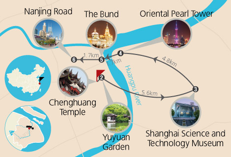Shanghai Essence 3 Days Tour