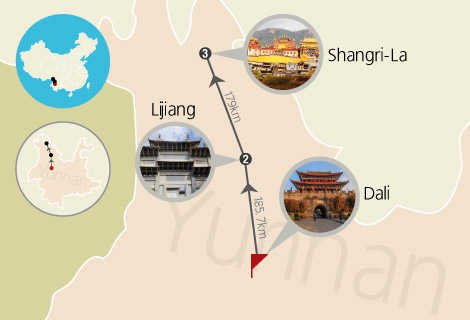 4 Days Group Tour to Dali, Lijiang & Shangri-La