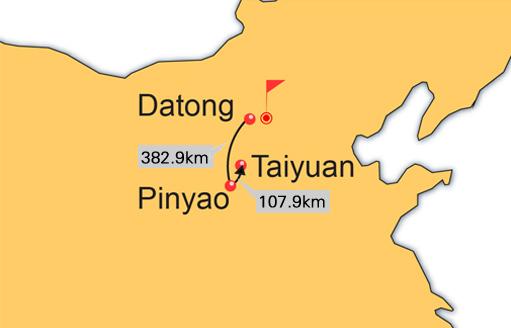 Datong, Pingyao, Taiyuan 4 Days Tour