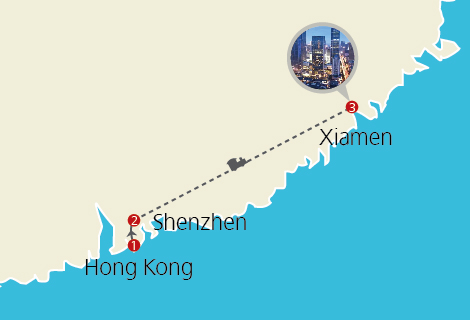 Explore Xiamen 5 Days Tour by Bullet Train