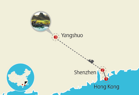 Free and Easy Yangshuo Weekend 3 Days Tour By Bullet Train