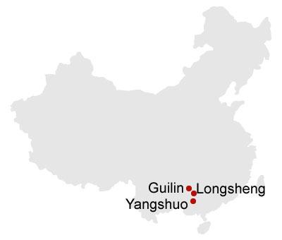 5 Days Essence Guilin and Longsheng Short Hiking Muslim Tour