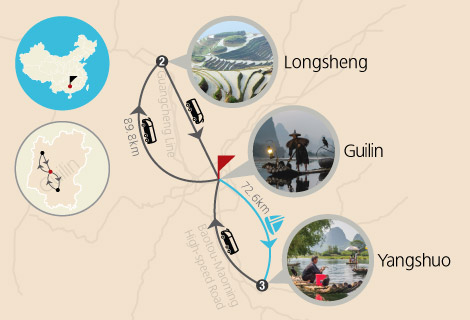 Guilin's Fascinating Nearby Minority Village 4 Days Tour