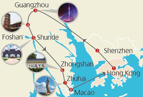 Hong kong macau guangdong 7 days gourmet tour gumiabroncs Image collections